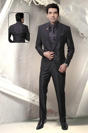 Shawl Lapel One Button Wedding Reception Suit