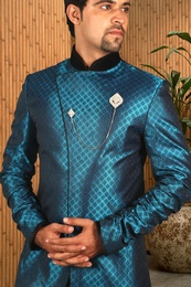 Graceful Indo Western Sherwani BL1038