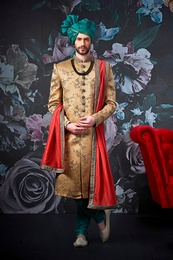 Stylish Groom Wedding Sherwani