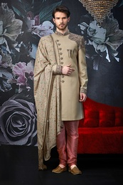 Unique Design Wedding Sherwani