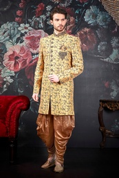 Unique Design Sherwani For Wedding