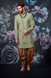 Latest Designer Pista Wedding Sherwani