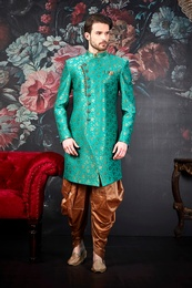Traditional Groom Wedding Sherwani