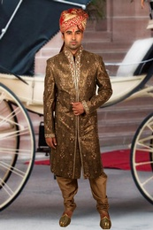 Modish Copper Sherwani BL2040