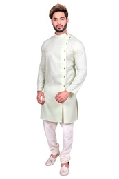 Mens Cool Cotton Indo Western Sherwani