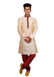 Sophisticated Beige Kurta Set