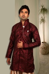 Short Length Semi Sherwani BL4031