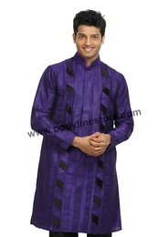 Purple Kurta Pajama RK4069