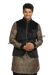 Kurta Set With Jacket RK4089