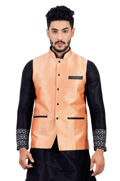 Salmon  Nehru Jacket   RK4132