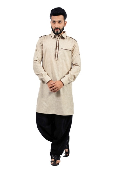 Dark Khaki  Pathani Suit  RK4144