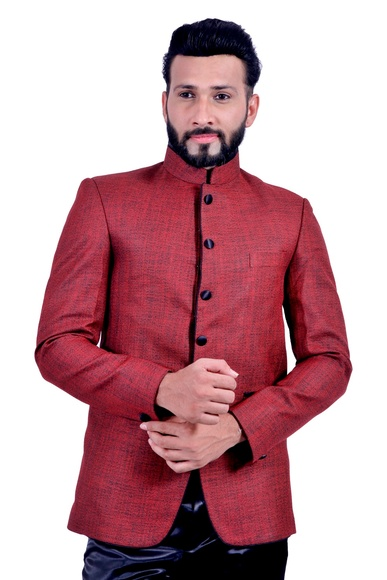 Brick Red  Blazer  RK5065