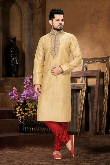 Gorgeous Cream Kurta Payjama