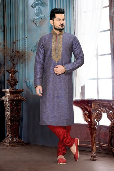Exclusive Lavender Color Kurta Payjama