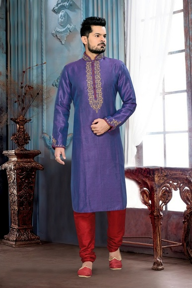 Cool Purple Color Kurta Payjama