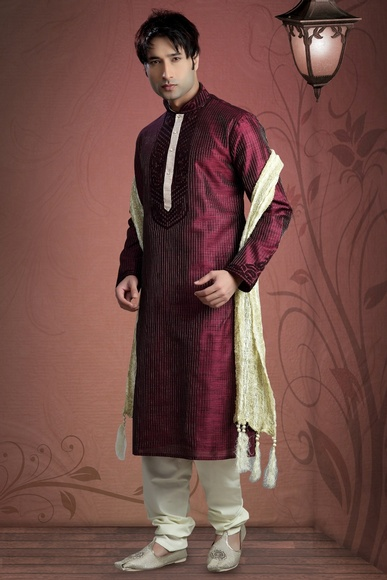 Beautiful Silk Ethnicwear Kurta Payjama