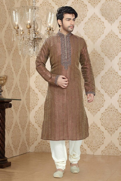 Brown Color Voguish Kurta Payjama