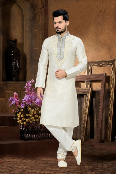 Eye Catching White Kurta Payjama