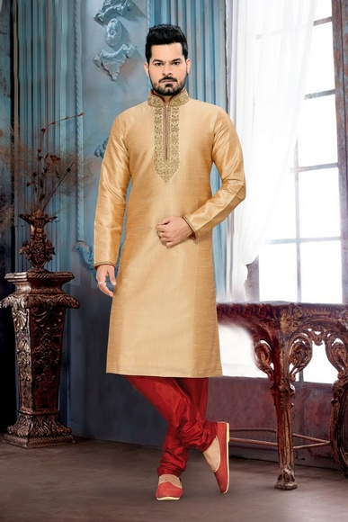 Beige Color Beautious  Kurta Payjama