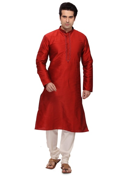 Gorgeous Maroon Color Kurta Payjama