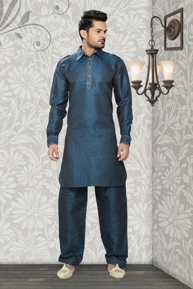 Eye Catching Blue Color  Kurta Payjama