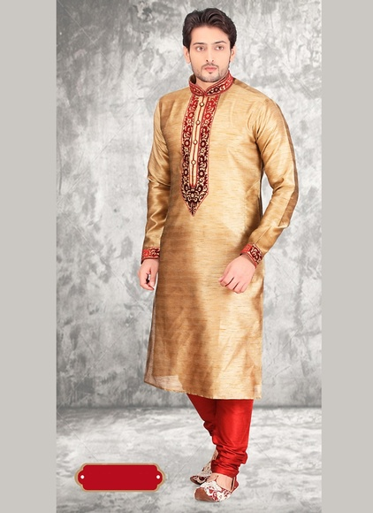 Brown Color Royal Look Kurta Payjama