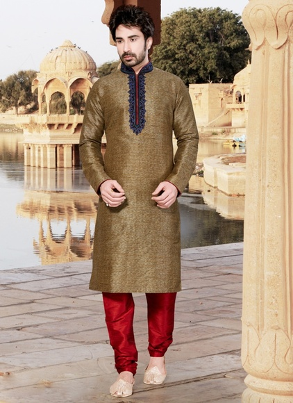 Brown Ravishing Kurta Payjama