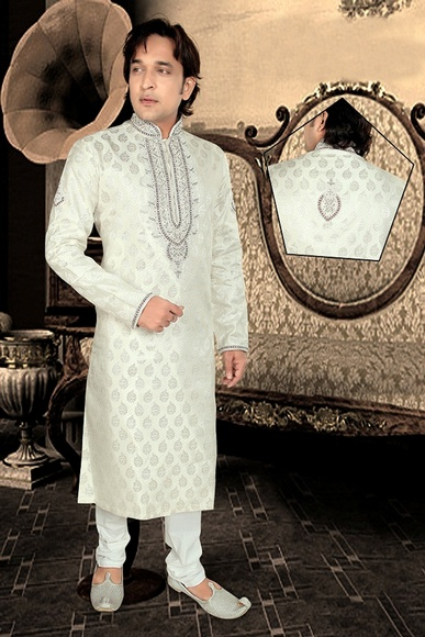 Sophisticated Beige Color Kurta Payjama