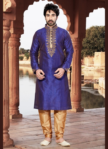 Fabulous Purple Kurta Payjama