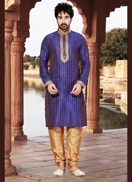 Purple Color Sophisticated Kurta Payjama