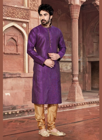 Stunning Wine Color Kurta Payjama