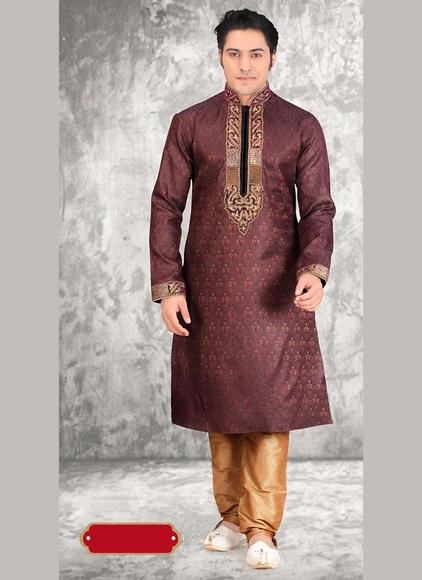 Brown Color Superb Kurta Payjama