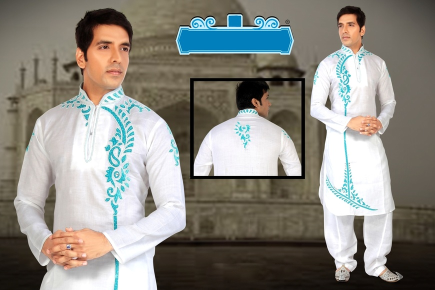 White Color Trendy look Kurta Payjama