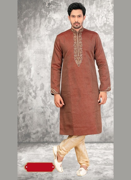 Regal Maroon Color Kurta Payjama