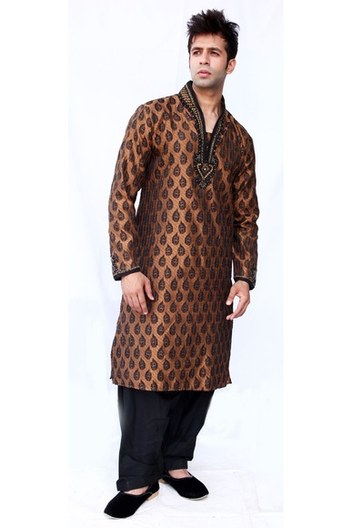 High Neck Sangeet Kurta BL4002