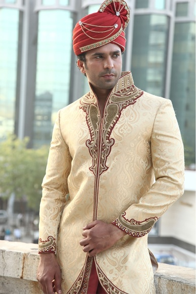 Apple Cut Ethnic Dhoti Sherwani BL2011