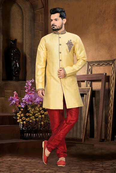 Splendidlook Menscream Royal Sherwani