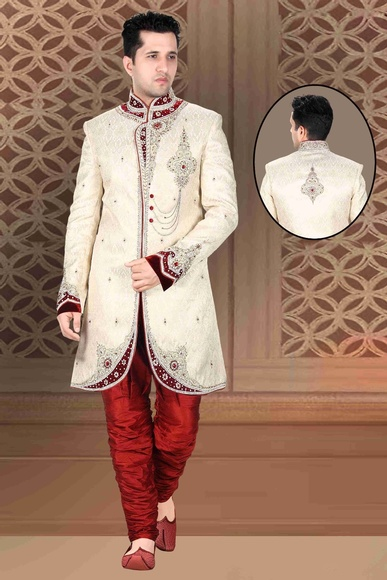 Broad Your Waybrown Royal Sherwani For Wedding