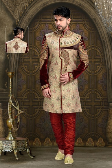 Spotlight Lookdesigner Colleciton Men Royal Sherwani