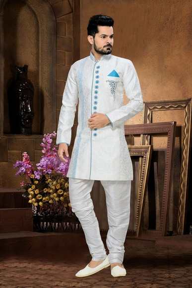 Exclusive Whitecollection Royal Sherwani For Wedding