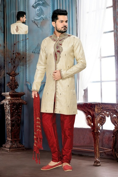 Attractive Lookdesigner Lookroyal Sherwani For Men