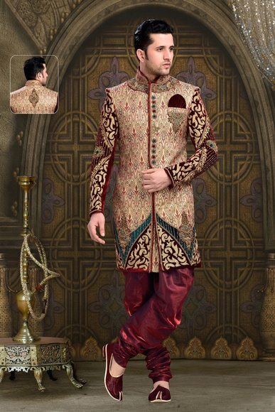 Impressive Unique And Designer Collection Royal Sherwani