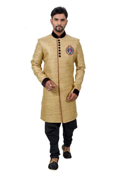 Lion Fancykatansilk Indowestern Sherwani