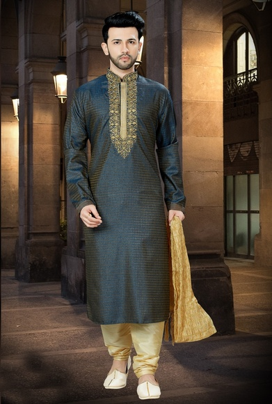 Online Cofee Kurta With Payjama For Men