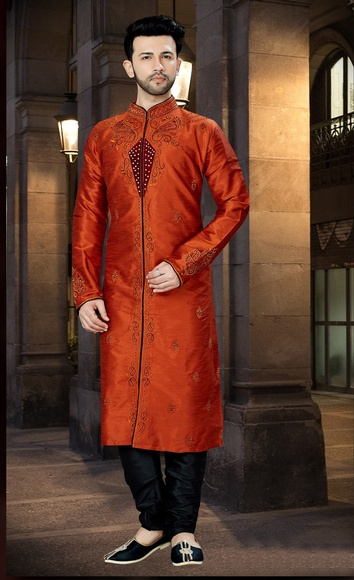 Traditional Look Online Kurta Payjama For Men