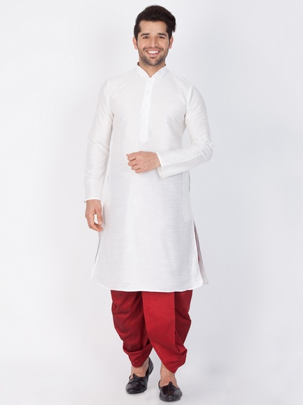 Latest Arrival White Kurta For Men
