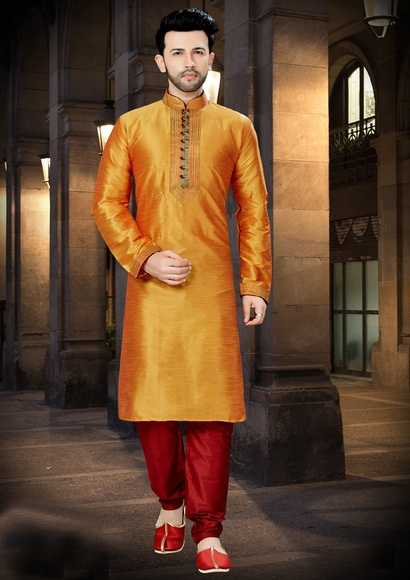 Latest Fashionable Wedding Collection Kurta For Men