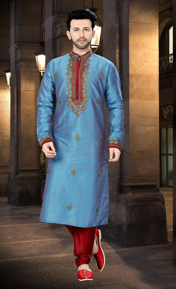 Online Chudidar Wedding Collection Kurta For Men