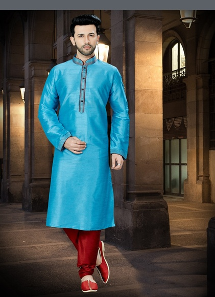 Online Well Tailored Feroze Kurta For Men