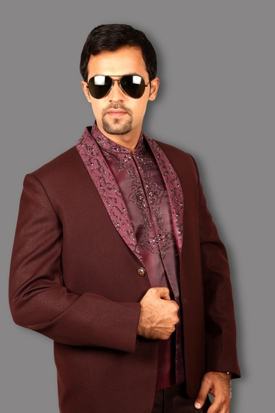 Modish 3 Piece Jodhpuri Suit BL3051